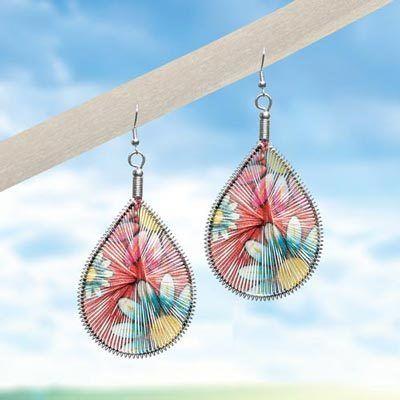 Daisy Dreamcatcher Earrings