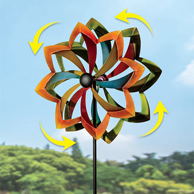 Large Dual Motion Wind Spinner
