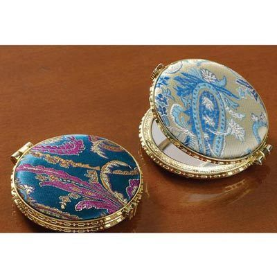 Brocade Double Compacts - Set of 2