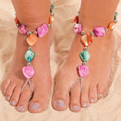 Colorful Splash Barefoot Jewelry Set