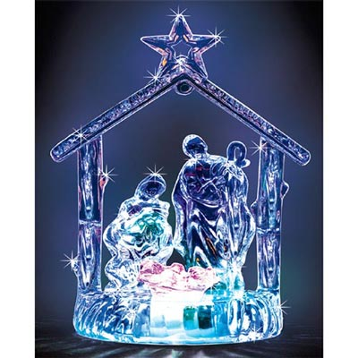 Luminescent Nativity