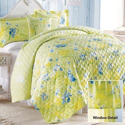 Iris Garden Quilt & Accessories