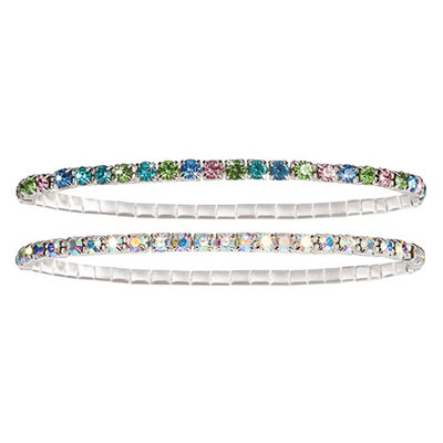 Stretch Tennis Bracelets- S/2