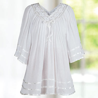 Ribbon & Lace Tunic