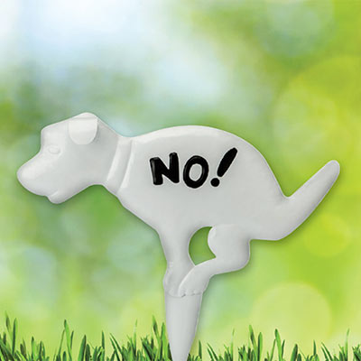 No! Dog Sign