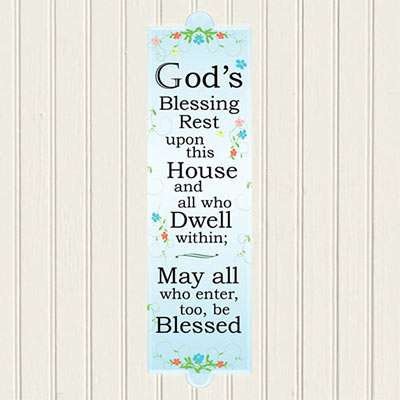 God's Blessing Plaque