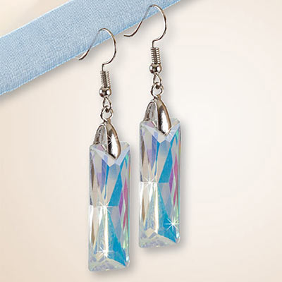 Crystal Prism Earrings