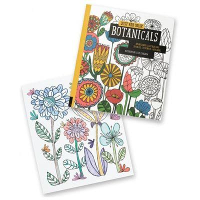 Botanicals Coloring Book