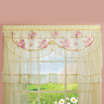 Victorian Lace Valance