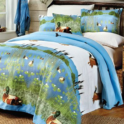 Birds in Flight Fleece Blanket & Accessories