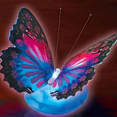 Fiber Optic Butterfly Light