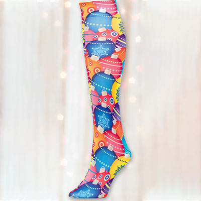 Holiday Trouser Socks - Ornament