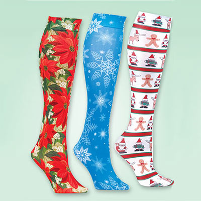 Holiday Trouser Socks