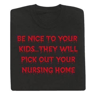 Be Nice to Kids Tee