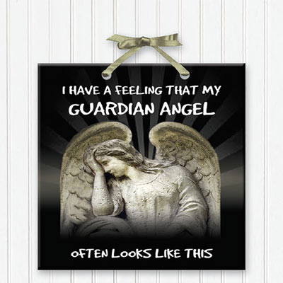 Guardian Angel Plaque