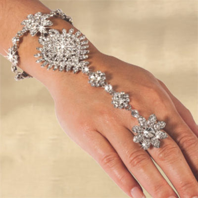 Lavishly Ornate Bracelet & Ring Combo