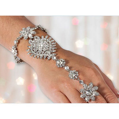 Lavishly Ornate Bracelet & Ring Combo