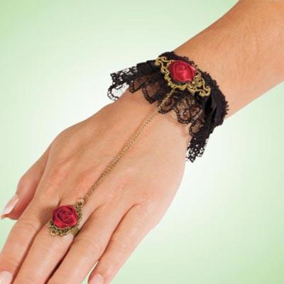 Victorian Rose Bracelet & Ring Combo