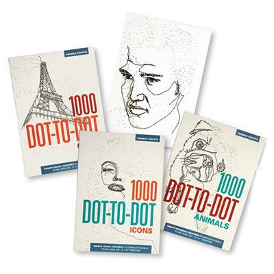 Dot-to-Dot Books for Adults!