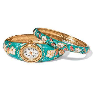 Dogwood Watch & Bracelet Set