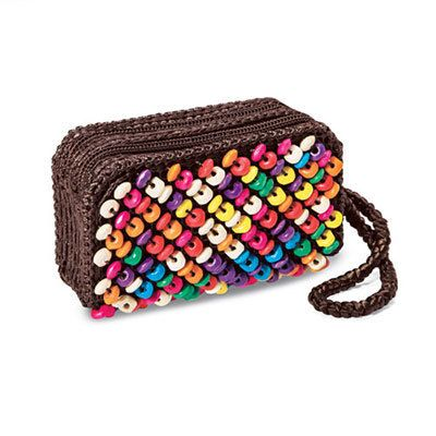 Colorful Coconut Clutch