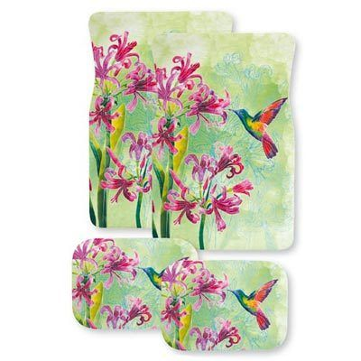 Hummingbird Garden Car Mats