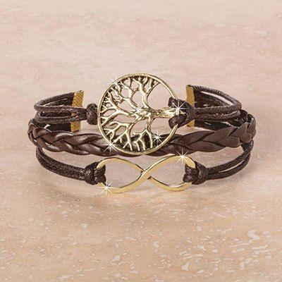 Infinity & Tree of Life Bracelet