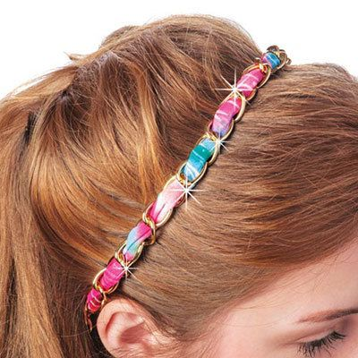 Watercolor Headband