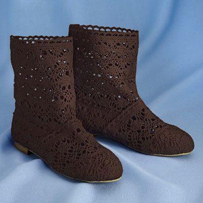 Crochet Peek-a-Boots