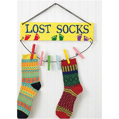 Lost Sock Plaque