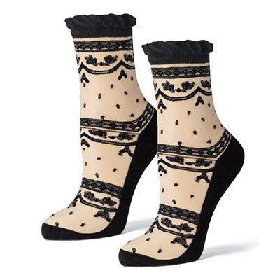 Sheer Lace Socks