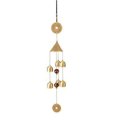 Lucky Coin Wind Chime