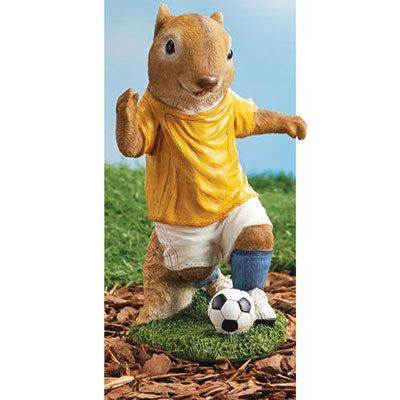 Hot Shot Soccer Squirrel