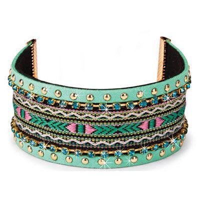 Santa Fe Summer Woven Bracelet