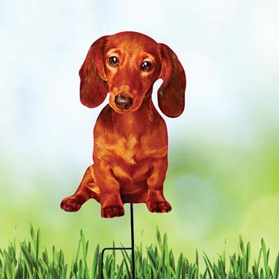 Dachshund Best Friend Yard Stake