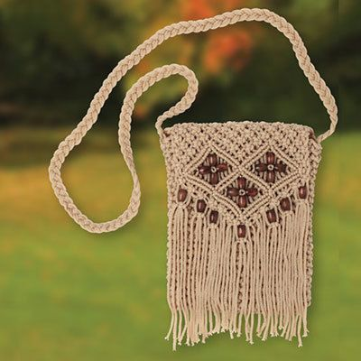 Knotted & Beaded Purse