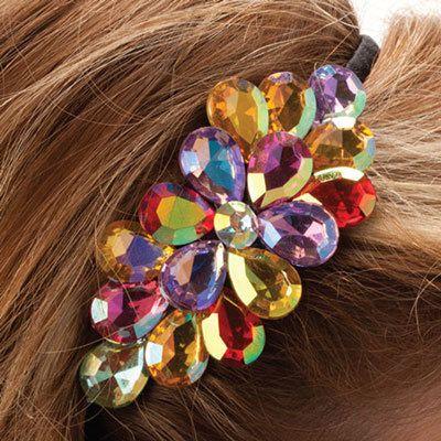 Shimmering Floral Headband
