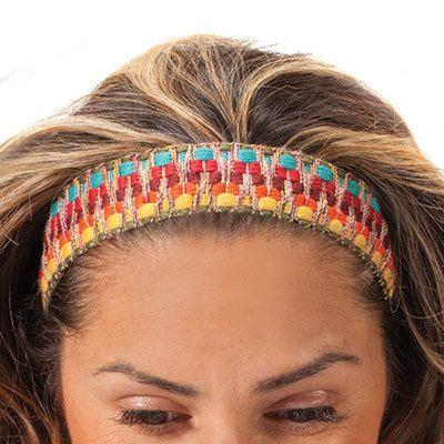 Colorful Striped Headband