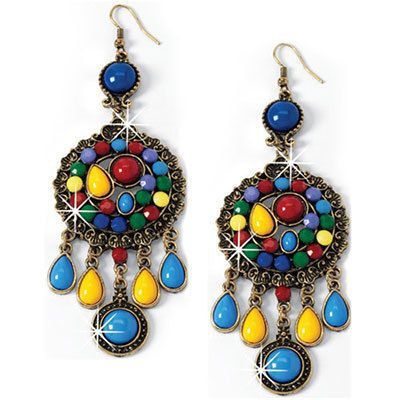 Colorful Artisan Earrings
