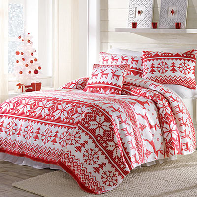 Nordic Fleece Blankets & Accessories