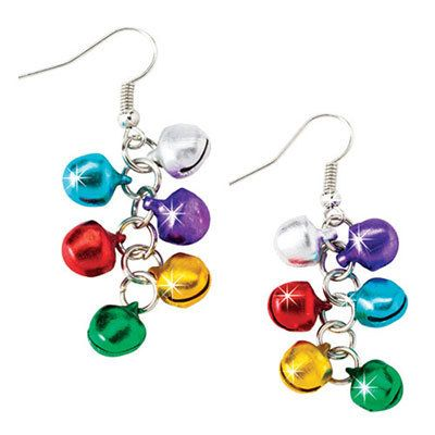 Festive Jingle Bell Earrings