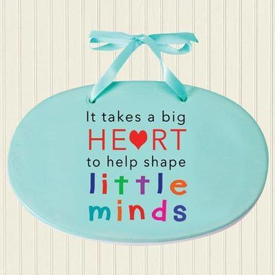 Heart & Minds Plaque