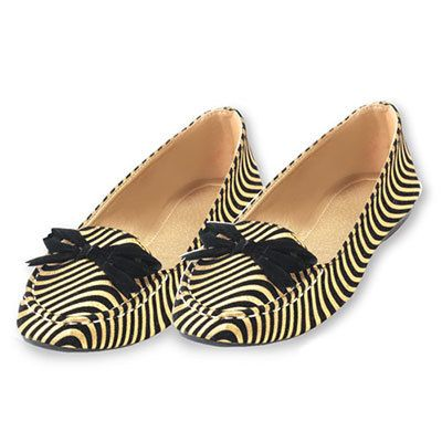 Golden Swirl Loafers