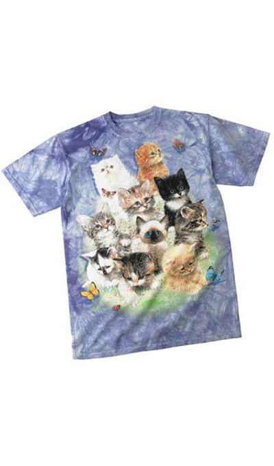 Fluffy Felines Sweet Adult Tee