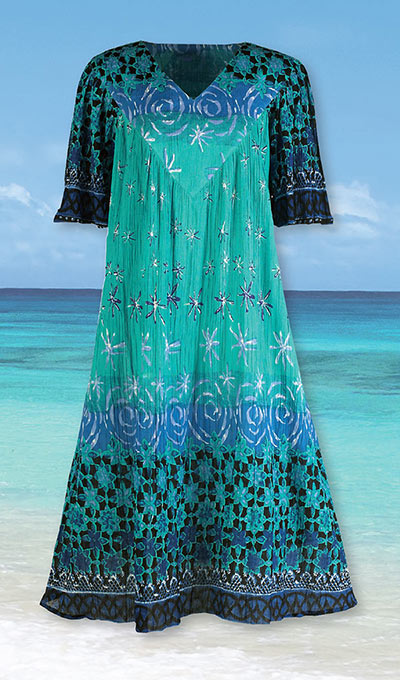 Ocean Breeze Patio Dress