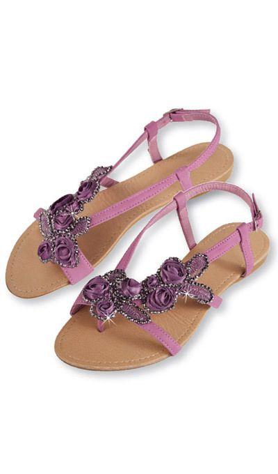 Rosebud Sandals