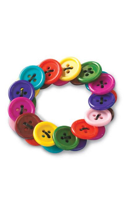 Buttons Stretch Bracelet
