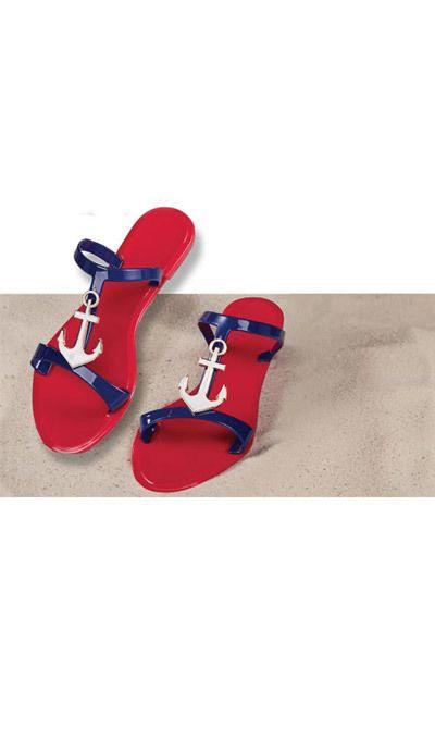 Anchors Aweigh Sandals