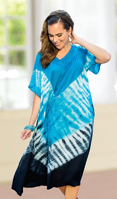 Tie-Dyed Dress