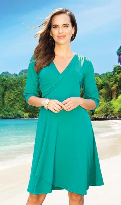 Slimming Petal Dress
